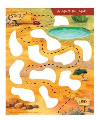 A-Maze-Ing Maps, pack of 5   -
