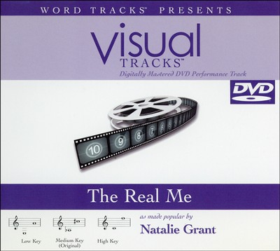 The Real Me, Accompaniment DVD   -     By: Natalie Grant