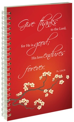 Give Thanks Notebook  -