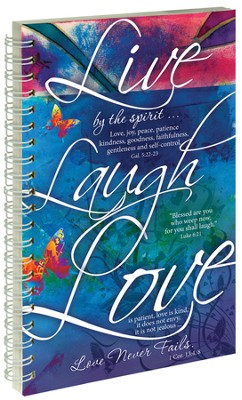 Live Laugh Love Notebook  -