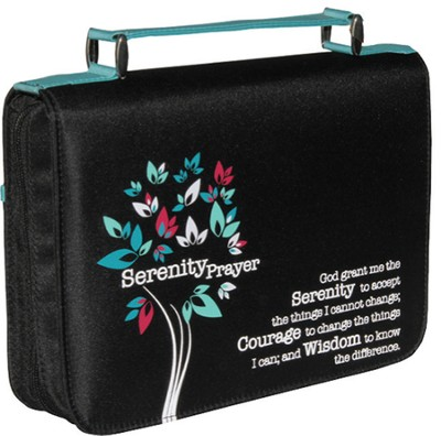 Serenity Prayer Bible Cover, Large  -