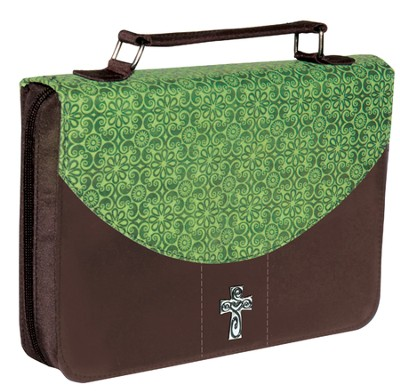 Bible Cover, Green, Medium  -
