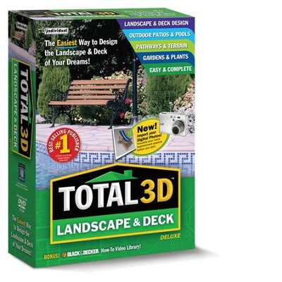 Total 3D Landscape & Deck Deluxe CD-Rom   -
