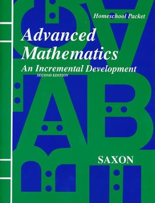 Saxon Advanced Math, Answer Key Booklet & Test Forms   -