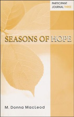 Seasons of Hope Participant Journal Three - Slightly Imperfect  -     By: M. Donna MacLeod