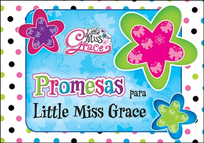 Promesas Para Little Miss Grace, Tarjetas   (Promises For Little Miss Grace, Cards)  -