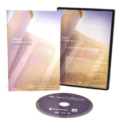 Walk As Jesus Walked DVD, Faith Lessons Volume 7   -     By: Ray Vander Laan