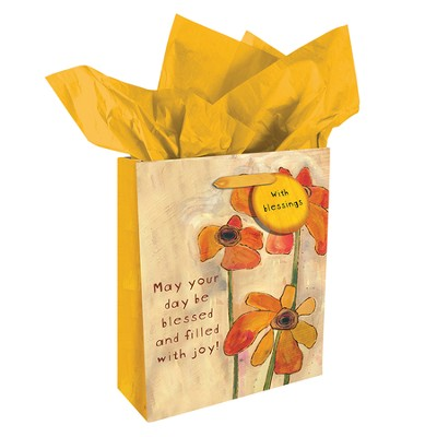 May Your Day Be Blessed and Filled With Joy Gift Bag, Medium  -