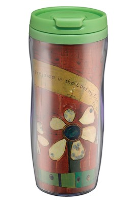 My Heart Is Glad (Psalm 16:9) Travel Mug  -