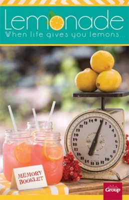 Lemonade Memory Booklet, package of 10  -