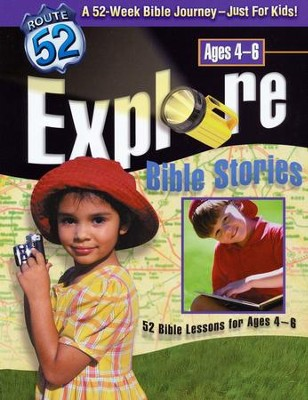 Explore Bible Stories: 52 Bible Lessons for Ages 4-6 - Slightly Imperfect  -