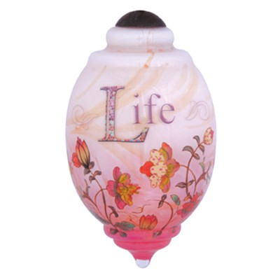 Life Is Not Measured, Neqwa Ornament  -     By: Connie Haley
