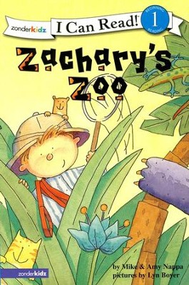 Zachary's Zoo, An I Can Read! Level 1 Book   -     By: Mike Nappa, Amy Nappa, Lyn Boyer