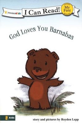 God Loves You Barnabas, My First I Can Read! (Shared Reading)   -     By: Royden Lepp