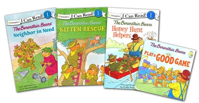 Berenstain Bears, I Can Read Pack   -     By: Jan Berenstain, Mike Berenstain