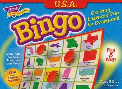 USA Bingo Game  -