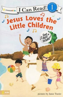 Jesus Loves the Little Children, I Can Read! Song Series Level 1  (Beginning Reading)  -     By: Janee Trasler