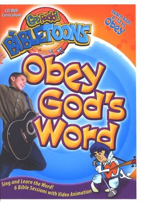 God Rocks! BibleToons: Obey God's Word, CD-ROM/DVD Curriculum   -