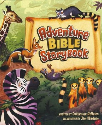 Adventure Bible Storybook  -     By: Catherine DeVries     Illustrated By: Jim Madsen