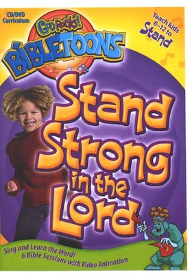 God Rocks! BibleToons: Stand Strong in the Lord, CD-ROM/DVD  Curriculum  -