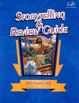 Bible Story Cards: Storytelling & Review Guide, New Testament  -