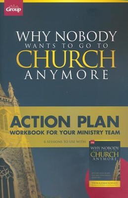 Why Nobody Wants to Go to Church Anymore, Workbook    -