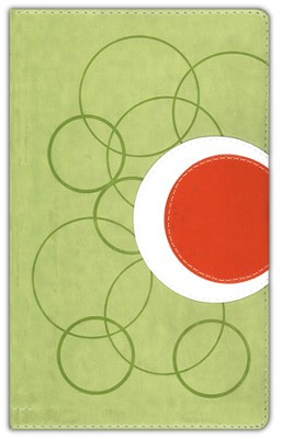 Teen Study Bible Revised Italian Duo Tone Melon Green 1984 - Imperfectly Imprinted Bibles  -