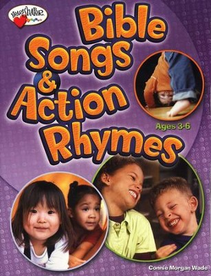 Bible Songs & Action Rhymes (Ages 3-K)   -