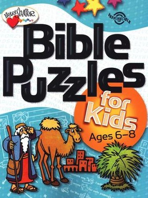 Bible Puzzles for Kids (Ages 6-8)   -