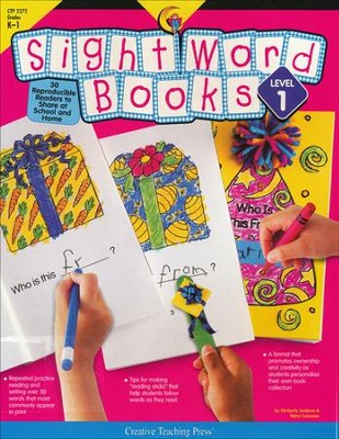 Sight Word Book Level 1, Grades K-1   -     By: Kimberly Jordano, Tebra Corcoran