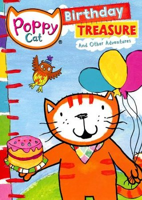 Poppy Cat: Birthday Treasures, DVD   -