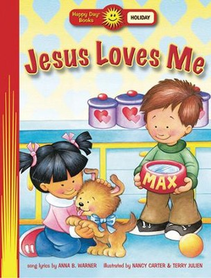 Jesus Loves Me  -     By: Anna B. Warner     Illustrated By: Nancy Carter
