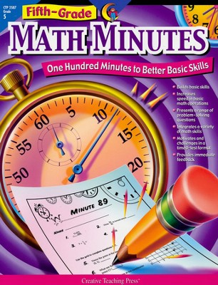 Fifth-Grade Math Minutes: One Hundred Minutes to Better Basic Skills  -     By: Sarah Fornara