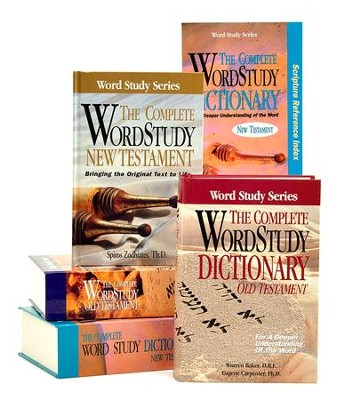 The Complete Word Study Bible and Dictionary Pack,  5 Volumes  -     Edited By: Spiros Zodhiates     By: Edited by Spiros Zodhiates