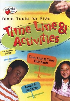HeartShaper Bible Tools for Kids: Time Line and Activities   -