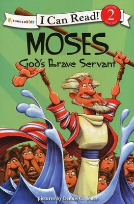 Moses, God's Brave Servant  -     Illustrated By: Dennis Jones