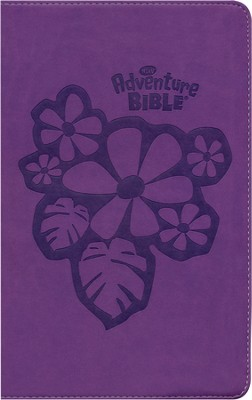 NIrV Adventure Bible for Early Readers, Italian Duo-Tone &#153, Tropical Purple - Slightly Imperfect  -