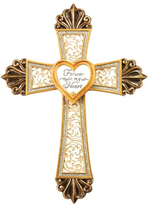 Memorial Cross with Locket  -