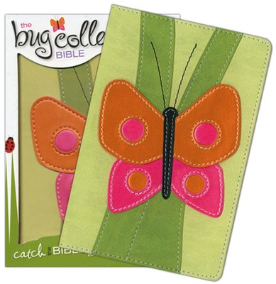 NIV Bug Collection Bible, Italian Duo-Tone, Butterfly 1984  -