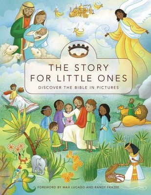 Story for Little Ones: Discover the Bible in Pictures, Hardcover - Slightly Imperfect  -