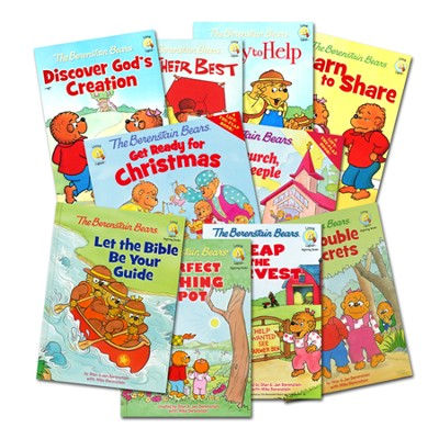 Living Lights: The Berenstain Bears, 10 Volumes   -     By: Stan Berenstain, Jan Berenstain, Mike Berenstain