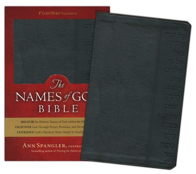 GWT The Names of God Bible, Imitation leather, black   -     By: Ann Spangler