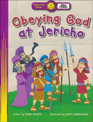Obeying God at Jericho  -     By: Diane Stortz     Illustrated By: Scott Burroughs