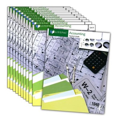 Lifepac Electives Accounting Complete Set   -