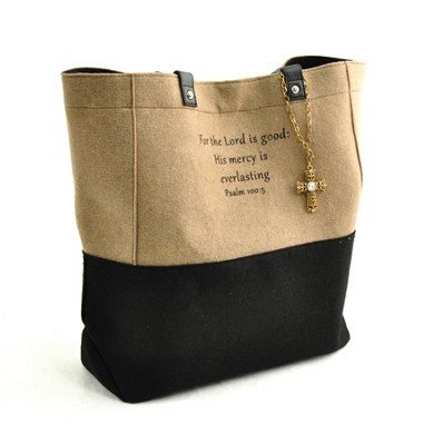 For the Lord is Good Tote  -