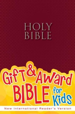 NIrV Gift & Award Bible, Burgundy Softcover  -