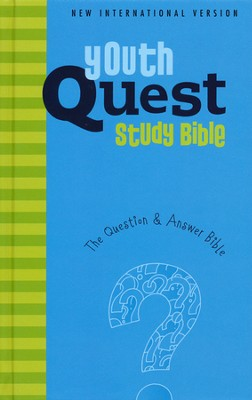 NIV Youth Quest Study Bible: The Question and Answer Bible  -