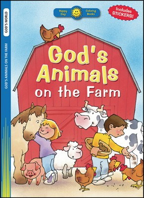 God's Animals on the Farm  -     By: Terry Julien (Illustrator)     Illustrated By: Terry Julien