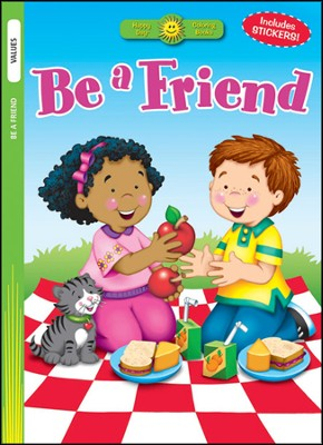 Be a Friend  -     By: Kathryn Marlin (Illustrator)     Illustrated By: Kathryn Marlin