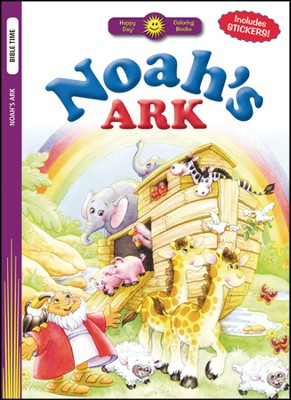 Noah's Ark Coloring Book  -
